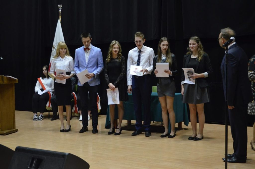 Pożegnanie absolwentów ZSE