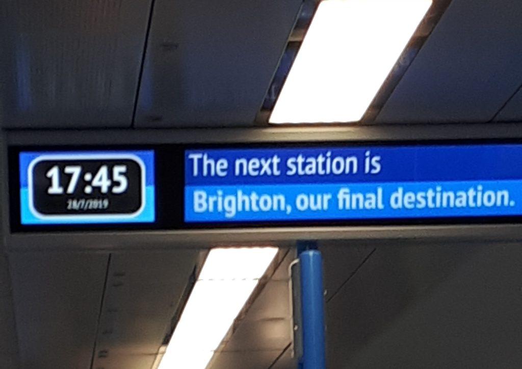 Brighton – pierwsze wrażenia