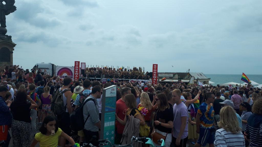 Sobotnia parada równości w Brighton