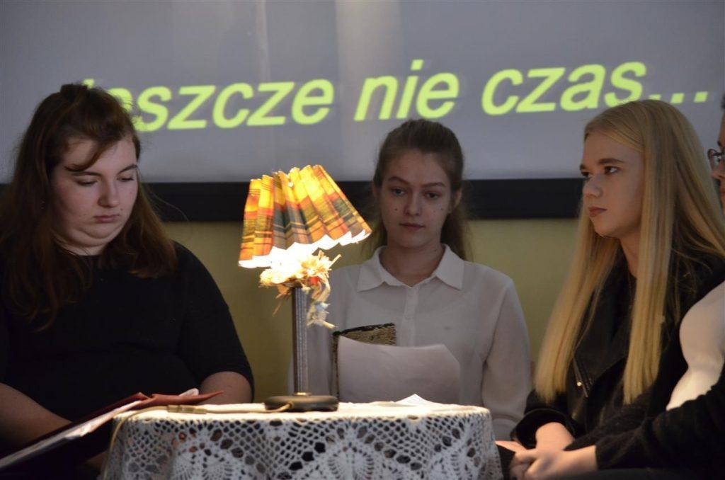"""""""Zaduszki poetyckie"""" w ZSE"""